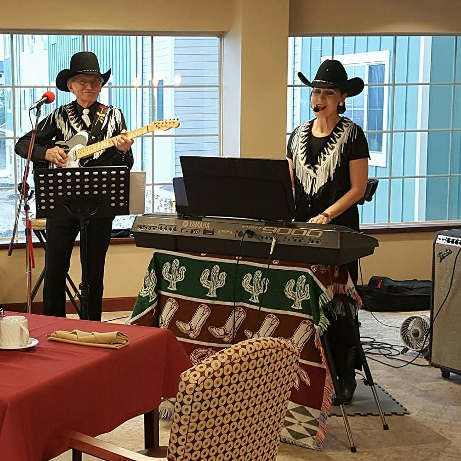 Live music in the dining area
