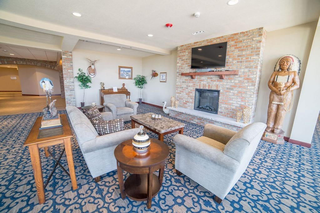 Assisted Living Lounge Area