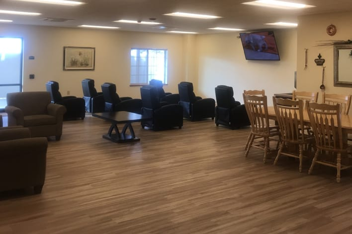 Memory Care lounge area at The Village at Skyline Pines